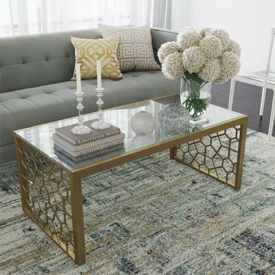 Thumbnail for your product : CosmoLiving by Cosmopolitan Juliette Sled Coffee Table