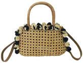 Serpui Marie Wicker Small Handbag