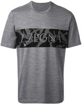 Z Zegna logo print T-shirt - men - Wool - M