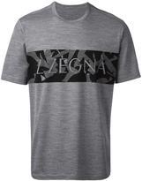 Z Zegna logo print T-shirt
