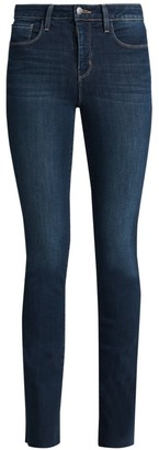 L'Agence Ruth High-Rise Straight Jeans