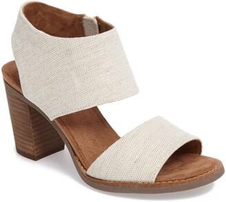 Toms Majorca Block Heel Sandal