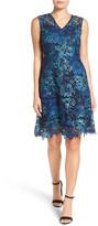 T Tahari Elora A-Line Lace Dress
