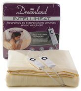Dreamland Intelliheat Harmony King Size Heated Over Blanket with Dual Control