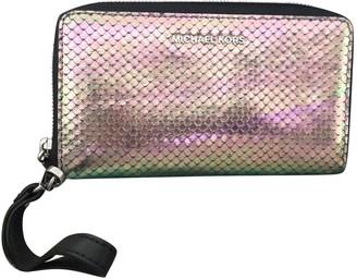 Michael Kors Metallic Leather Purses, wallets & cases