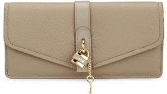 Chloé Aby Leather Flap Wallet