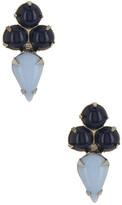 Yochi Geo Lapis Earrings