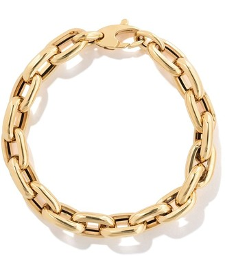 """As 29 18kt Yellow Gold 7.5"""" Bold Links Chain Bracelet"""
