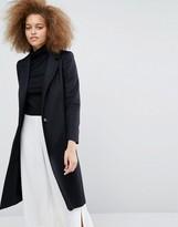 Helene Berman Longline Zoe Coat in Black
