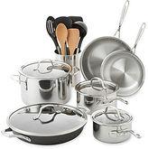 Calphalon Tri-Ply 8-pc. Stainless Steel Cookware Set + BONUSES