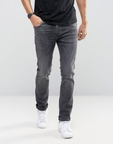 Selected Homme Jeans In Skinny Fit With Stretch