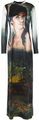 Stella McCartney Printed Chenille Maxi Dress