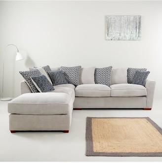 Bloom Fabric Left-Hand Corner Group Sofa