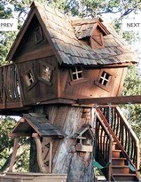 The Well Appointed House Deluxe Original Treehouse