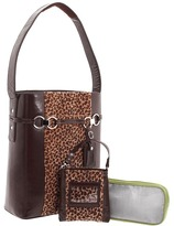 Stila Francine - WIB Laptop Case -15.6 (Leopard/Brown Faux Fur) - Bags and Luggage