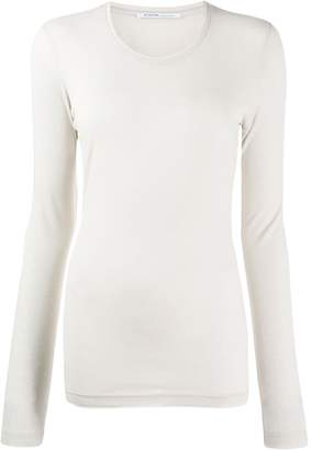 Agnona cashmere long-sleeve top