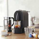 Nespresso U with Aeroccino Plus Frother, Black