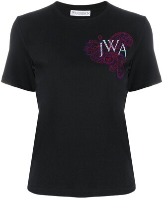 J.W.Anderson embroidered logo T-shirt