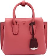 MCM Mini Milla Leather Top Handle Bag