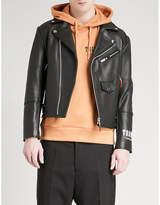 Trapstar Death Metal Leather Jacket