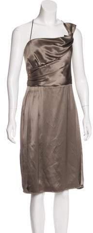 Armani Collezioni Silk Satin Dress