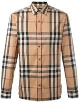Burberry checked shirt
