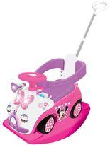 Kiddieland Disney's Minnie Mouse 4-in-1 Activity Ride-On by Kiddieland