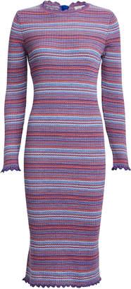 Stine Goya Tinita Striped Rib Knit Dress