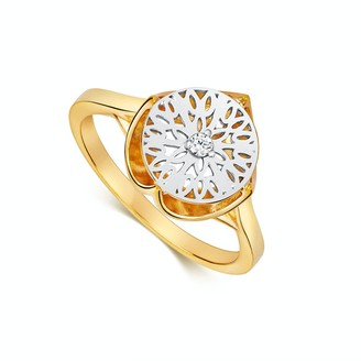 Gold Crown Ring   The Seville Collection