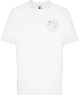 Billionaire Boys Club crystal-studded logo T-shirt