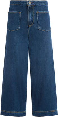 Alice + Olivia JOHNNY FRONT PATCH ANKLE JEAN