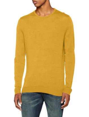 Selected Men's Slhtower Merino Crew Neck B Noos Jumper