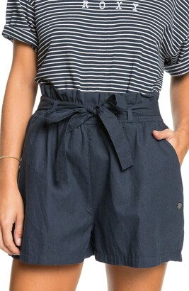 Roxy Be My Darling Paperbag Waist Shorts