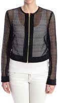 Diane von Furstenberg Crop Jacket