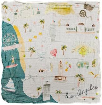 Loulou Lollipop Los Angeles Deluxe Muslin Swaddle Blanket