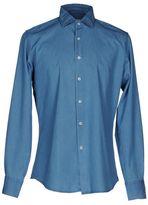 Glanshirt Denim shirt