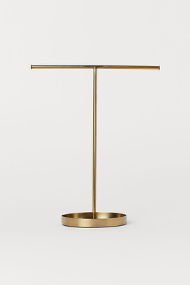 H&M Metal Jewelry Stand - Gold