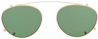 Barton Perreira Aviator Frame Sunglasses