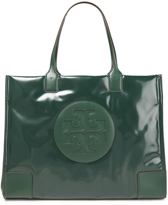Tory Burch Ella Coated Faux Leather Tote