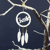 Suzy Q Designs Personalised Dream Catcher Christmas Decoration