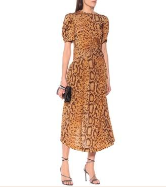 Preen by Thornton Bregazzi Daliz snake-print dress