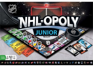 NHL-Opoly Junior Boardgame Hockey