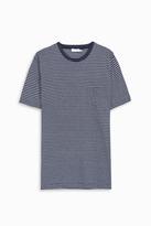 Sunspel Striped Pocket T-Shirt