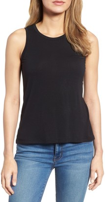 Halogen Keyhole Back Tank Top (Regular & Petite)