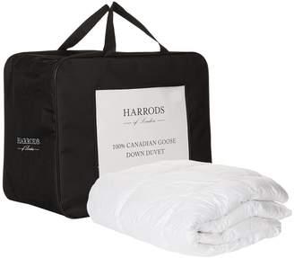 Harrods Single 100% Canadian Goose Down Duvet (13.5 Tog)