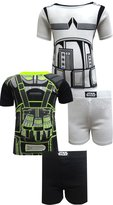 Star Wars Rogue One 4 Piece Cotton Short Pajamas for boys