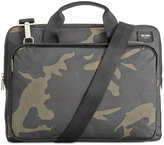 Jack Spade Men's Camo Slim Twill Briefcase