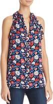 Kate Spade Sleeveless Floral-Print Top