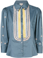 Temperley London poppy field shirt - women - Cotton - 8