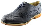 Wanted Babe Women Wingtip Toe Synthetic Blue Oxford.